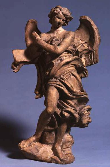 Standing Angel with Scroll, 1667 - 1668 - Gian Lorenzo Bernini