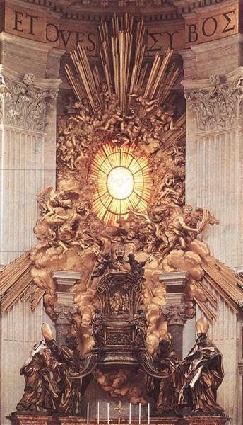 The Throne of Saint Peter, 1657 - 1666 - Gian Lorenzo Bernini