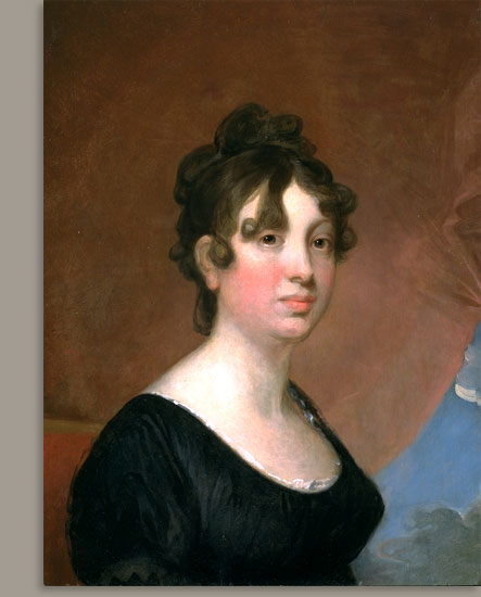 Elisabeth Bender Greenough, 1820 - Gilbert Stuart