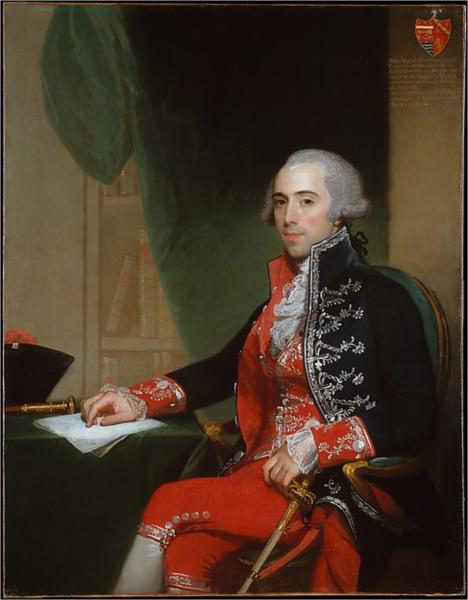 Josef de Jaudenes y Nebot, 1794 - Gilbert Stuart