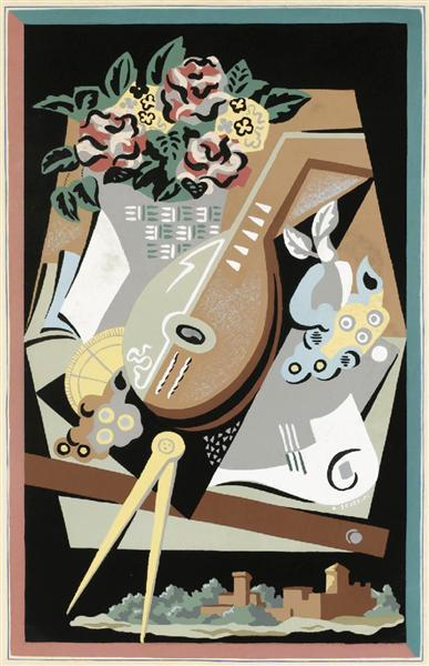 Flowers and masks, 1930 - Gino Severini