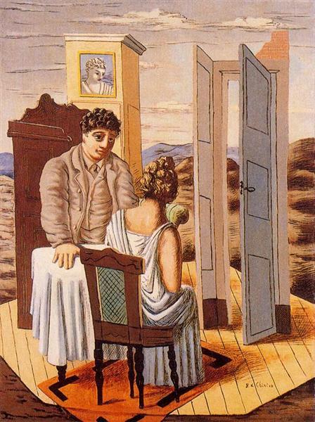 Conversation, 1927 - Giorgio de Chirico