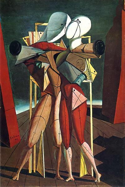 Hector and Andromache, 1912 - Giorgio de Chirico