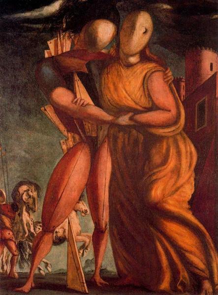 Hector and Andromache, 1924 - Giorgio de Chirico