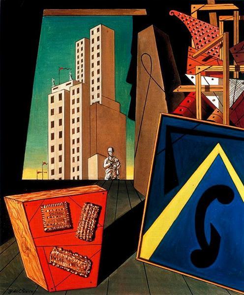 The Evangelical still life, 1956 - Giorgio de Chirico