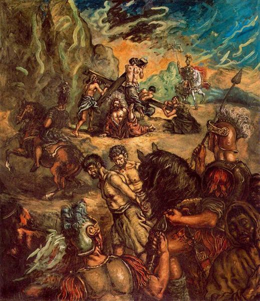 The Fall, 1913 - Giorgio de Chirico