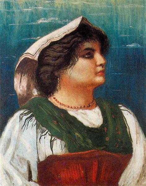 The peasant woman - Giorgio de Chirico