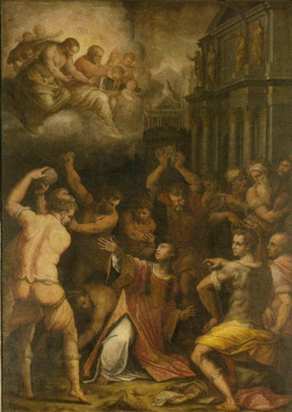 Stoning of St. Stephen, 1569 - 1571 - Giorgio Vasari