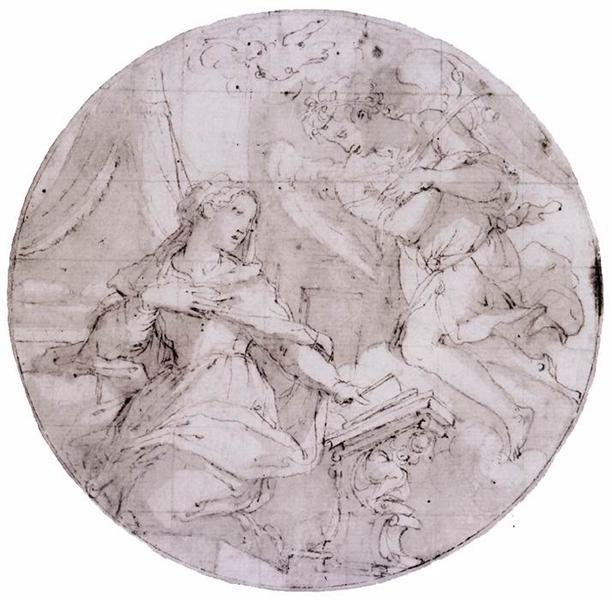 The Annunciation, 1570 - 1571 - Giorgio Vasari