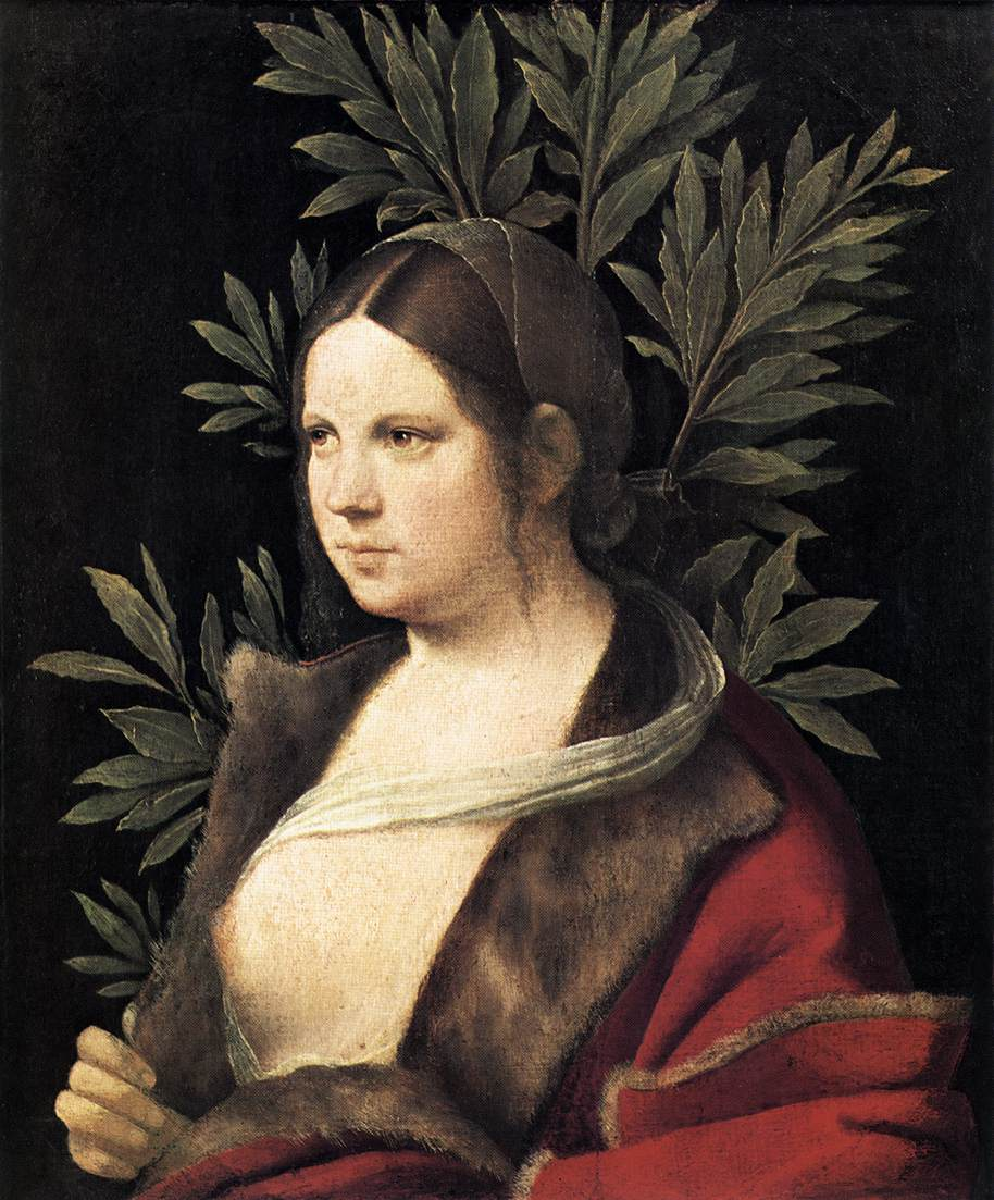 Portrait of a young woman laura