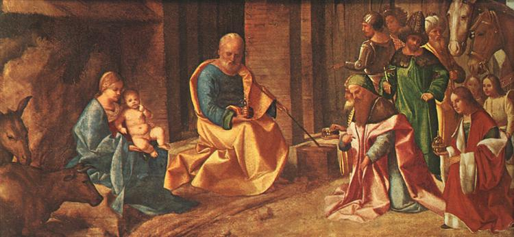The Adoration of the Kings, 1506 - Giorgione