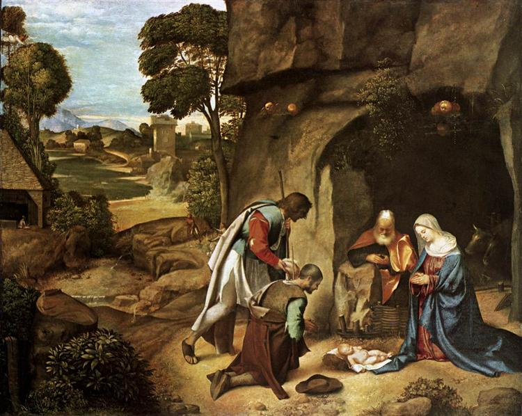 The Adoration of the Shepherds - Giorgione