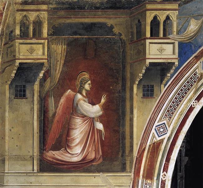 Annunciation: The Angel Gabriel Sent by God, 1306 - Giotto