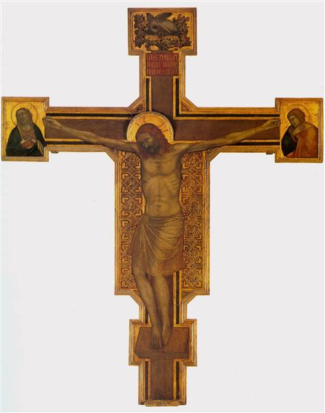 Crucifixion, c.1315 - Giotto