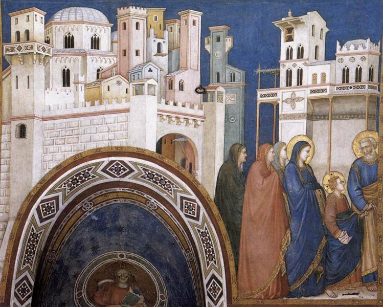 Return of Christ to Jerusalem, c.1311 - c.1320 - Giotto