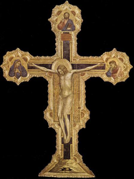 The Crucifixion, 1317 - Giotto