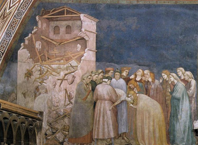The Death of the Boy in Sessa, c.1311 - c.1320 - Giotto