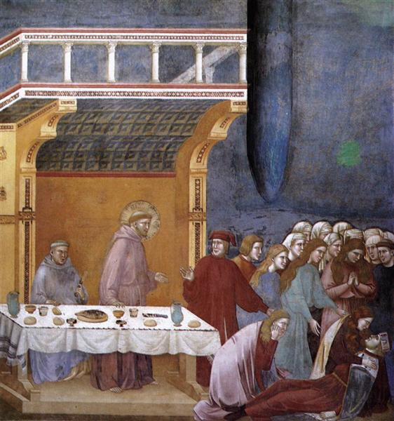 The Death of the Knight of Celano, 1297 - 1300 - Giotto