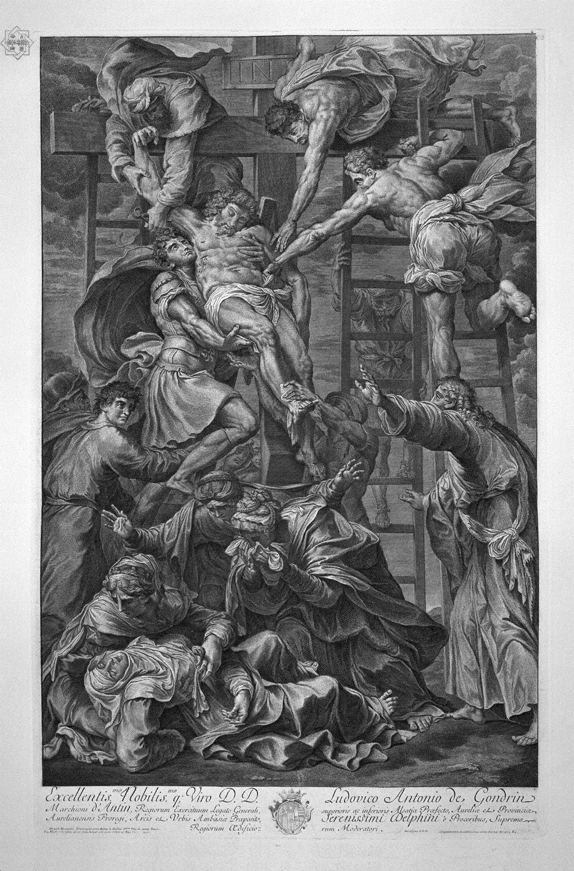 il presentazione del vergine, affreschi di Daniele Da