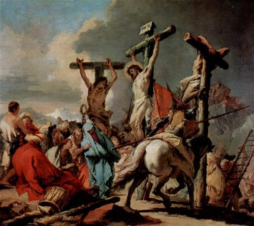 Crucifixion - Giovanni Battista Tiepolo