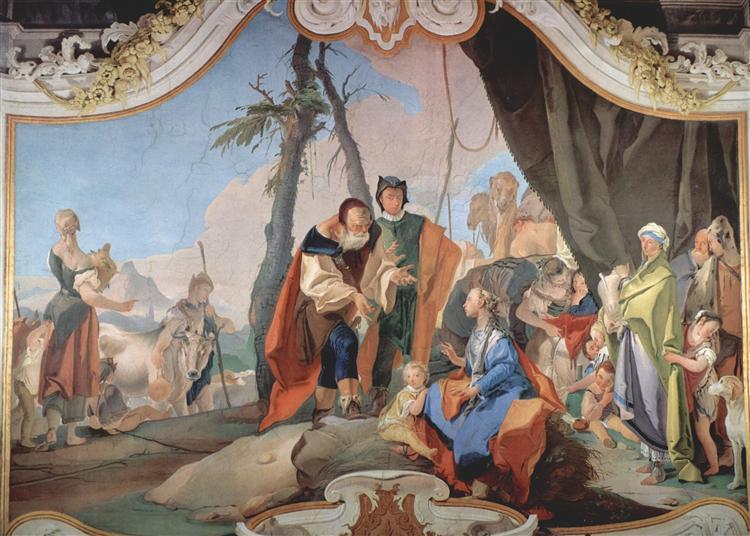 Rachel Hiding the Idols, 1726 - 1728 - Giovanni Battista Tiepolo
