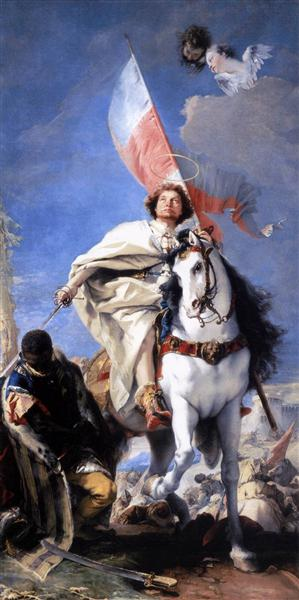 St James the Greater Conquering the Moors, 1749 - 1750 - Giovanni Battista Tiepolo