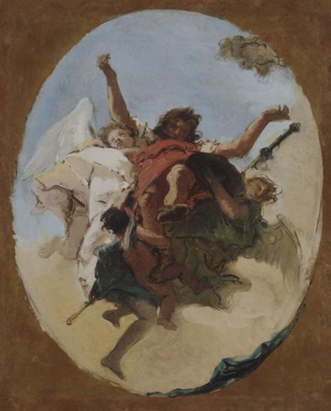 The Apotheosis of Saint Roch, c.1740 - c.1745 - Giovanni Battista Tiepolo