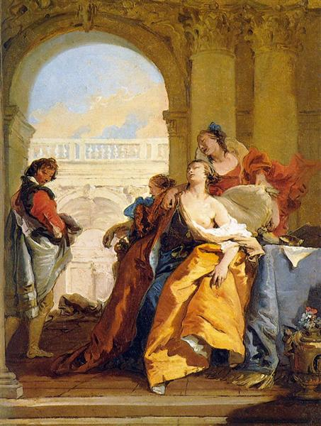 The Death of Sophonisba, 1755 - 1760 - Giovanni Battista Tiepolo