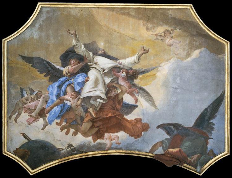The Glory of St Dominic, 1737 - 1739 - Giovanni Battista Tiepolo