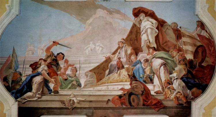 The Judgment of Solomon, 1726 - 1728 - Giovanni Battista Tiepolo