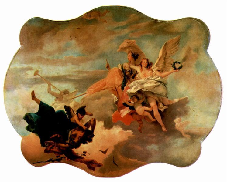 The Triumph of Fortitude and Sapiency, c.1745 - c.1750 - Giovanni Battista Tiepolo