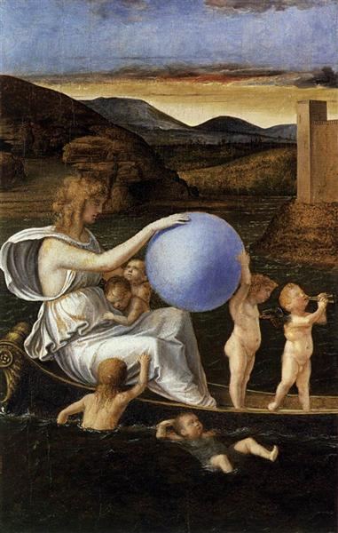 Four Allegories: Fortune (or Melancholy), c.1490 - Giovanni Bellini