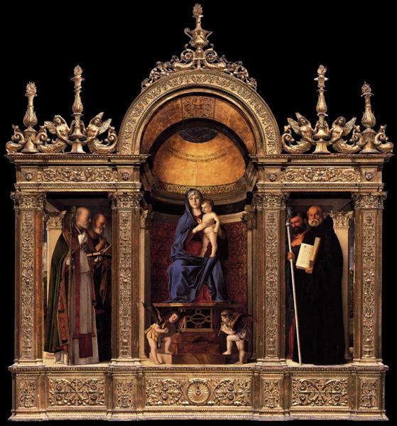 Frari Triptych, 1488 - Giovanni Bellini