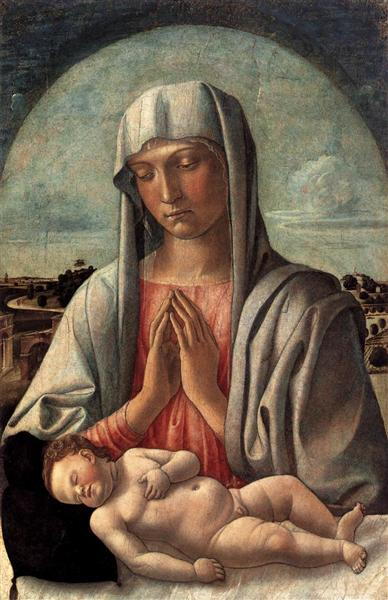 Madonna and Child, c.1455 - Giovanni Bellini