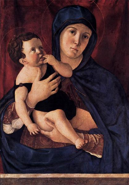 Madonna and Child, c.1475 - Giovanni Bellini