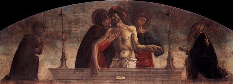 Pietà, 1472 - Giovanni Bellini