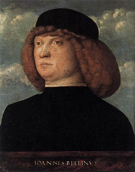 Portrait of a Young Man, 1500 - Giovanni Bellini