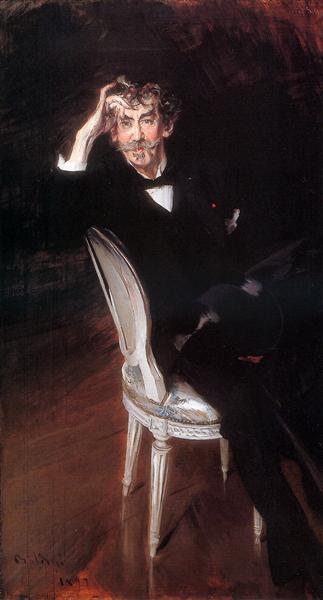 Portrait of James Abbott McNeil Whistler (1834-1903), 1897 - Giovanni Boldini