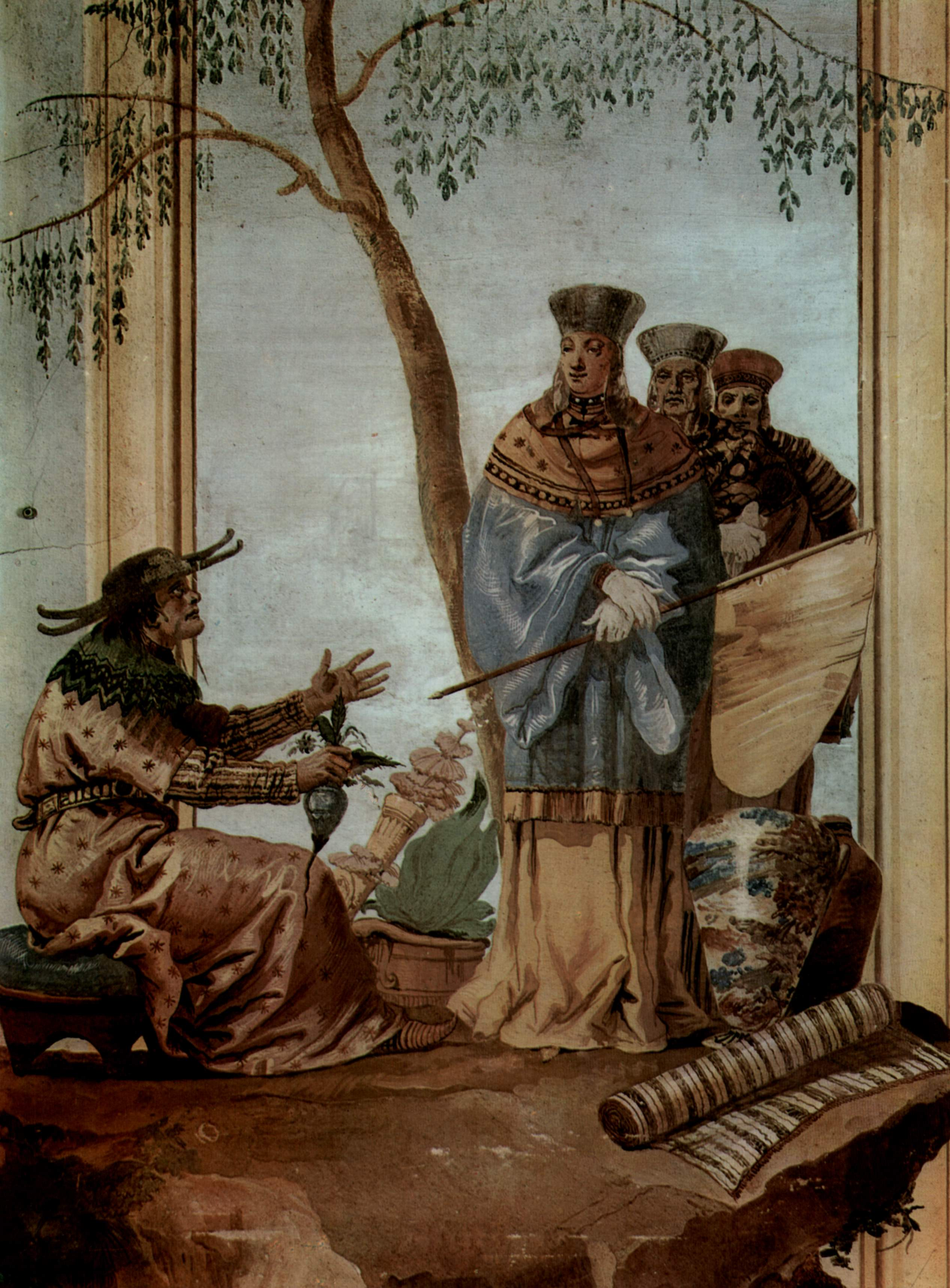 chinese prince in fortune tellers 1757 giovanni