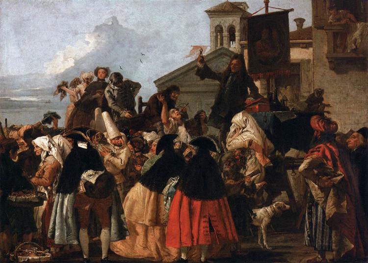 The Tooth Extractor, c.1754 - Giovanni Domenico Tiepolo