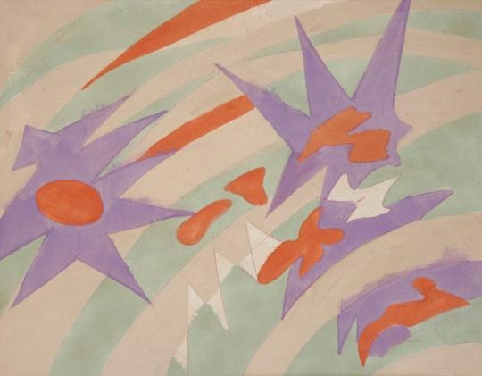 Stellare, 1973 - Giulio Turcato