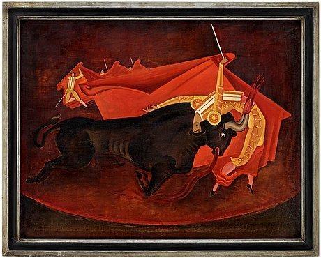 Bull and Matador III, 1926