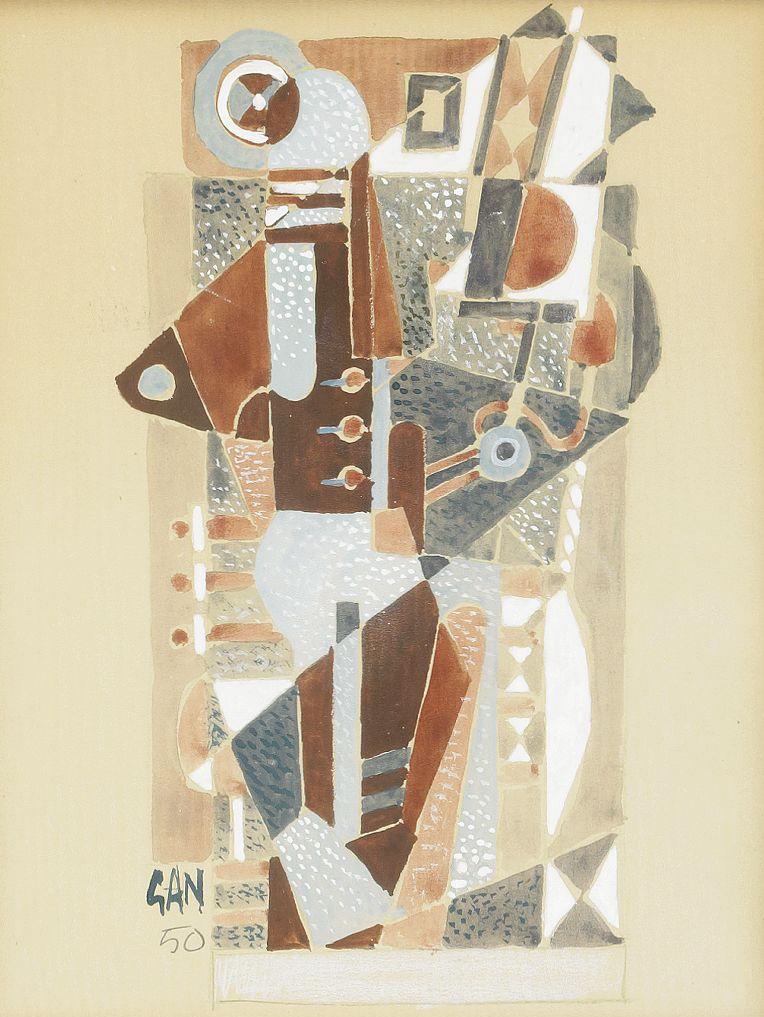 Komposition, 1950