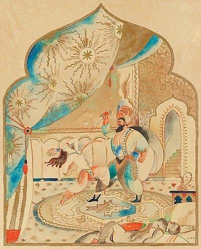 Sheherazade, 1916 - Gosta Adrian-Nilsson