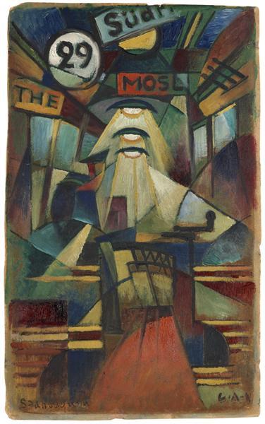 Spårvagnen, 1914 - Gosta Adrian-Nilsson
