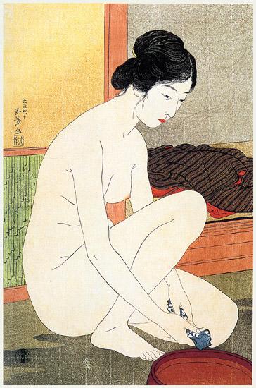 Woman After Bath, 1915 - Goyo Hashiguchi
