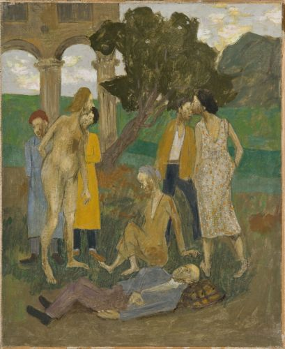 Scene paysanne, 1963 - Grégoire Michonze