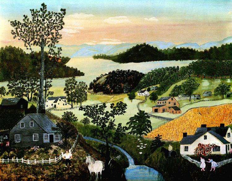 A Beautiful World, 1948 - Grandma Moses