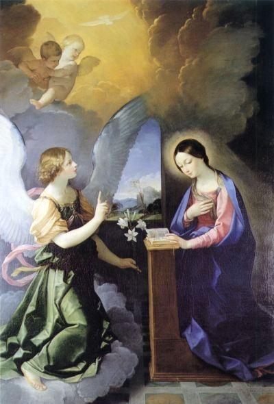 Annunciation, 1621 - Гвидо Рени