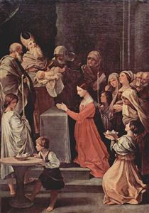 Thepurificationof the Virgin - Guido Reni